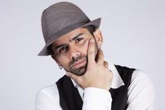 Hip hop portrait stock photo