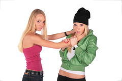 Hip-hop and pretty: hatred Stock Photography