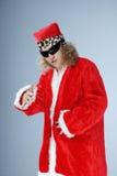 Hip-hop of Santa Claus Stock Photo