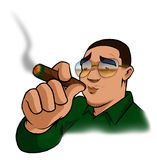Hip Hop Smokin Stock Image