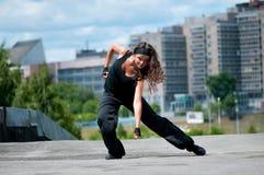 Hip-hop sobre paisaje urbano Foto de archivo