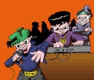 Hip hop soundsystem 01 royalty free illustration