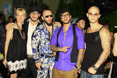 The Hip-Hop star  Timati and his team Royalty Free Stock Photos