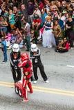 Hip Hop Storm Troopers Pose At Atlanta Dragon Con Parade Royalty Free Stock Image