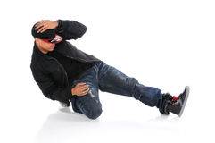Hip Hop Style Dancer Royalty Free Stock Image