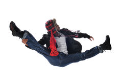Hip-Hop style dancer Stock Photography