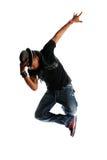 Hip Hop style Dancer Stock Images