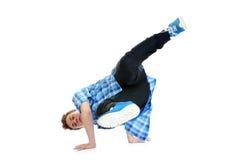 Hip-hop style dancer Stock Image
