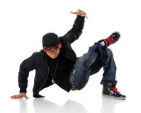 Hip Hop Style Dancer Royalty Free Stock Images