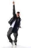 Hip-hop style dancer Stock Images