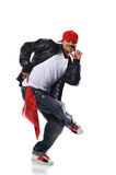 Hip-Hop style dancer royalty free stock image