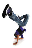Hip Hop Style Dancer performing Stock Photo
