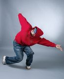 Hip-hop style dancer posing. Stock Photo