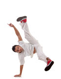 Hip hop style dancer posing Stock Image
