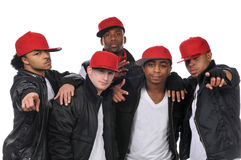 Hip Hop style dancers Stock Photo