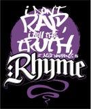Hip hop style print design, vector image. Hip hop style print design, vector image royalty free illustration