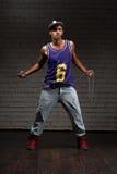 Hip-hop stylu mężczyzna mienia łańcuch obrazy royalty free