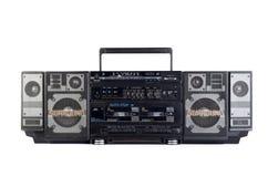 Hip hop surround sound radio isolated on white Stock Images