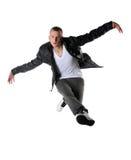 Hip Hop-Tänzer-Ausführung Lizenzfreie Stockfotos