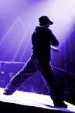 hip hop tancerkę. Obrazy Royalty Free