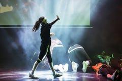 Hip Hop tancerz Obrazy Stock
