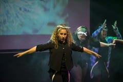 Hip hop tancerze Fotografia Royalty Free