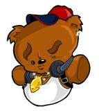 Hip Hop Urban City Teddy Bear. Cool and Urban Hip Hop Style Teddy Bear Plush Stock Photography