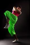 Hip hop woman dancer Royalty Free Stock Image