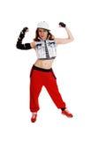 Hip hop woman. Stock Images