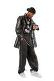 Hip-hop young man Stock Images