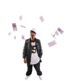 Hip-hop youngster Royalty Free Stock Photos