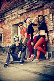 Hip-hop zespół fotografia stock