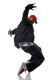 Hip-hoparttänzer Lizenzfreies Stockbild