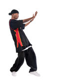 Hip-hopknabe lizenzfreies stockbild
