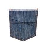 Hip-pocket of jeans Stock Photos