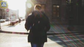 Hiper- upływ Ulicy Petersburg osoba zbiory wideo