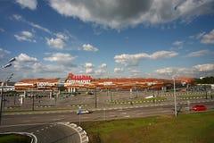 Hipermercado de Auchan Imagens de Stock