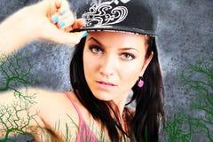 Hiphop girl Royalty Free Stock Photos