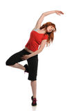 Hiphop Woman dancer performing Stock Image