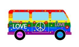 Hipisa minibus Obrazy Royalty Free