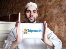 Hipmunk旅行公司商标 免版税库存图片