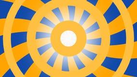 Hipnotic靛蓝橙色背景 股票录像