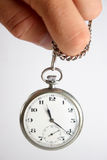 Hipnotismo del reloj Foto de archivo libre de regalías