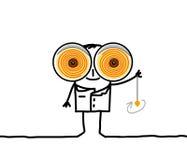Hipnotizador Imagen de archivo libre de regalías