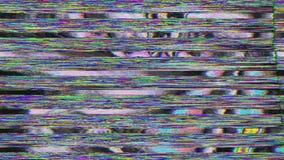 Hipnotizando o efeito mau distorcido da tevê, vislumbrando o fundo ilustração stock