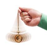 Hipnotizando o relógio de bolso Imagem de Stock Royalty Free