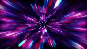 Hipnotizar o fundo da explosão da galáxia ilustração stock