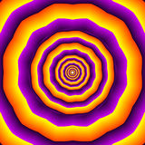 Hipnotyczni polygones Fotografia Royalty Free