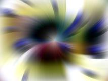 Hipnotyczny energiczny tło w miękkich odcieniach zdjęcie stock