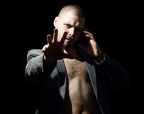 hipnotyczny mężczyzna Fotografia Stock